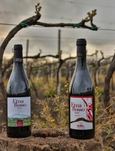 Etna doc - vino rosso